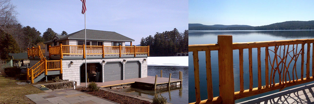 Boathouse/dock construction